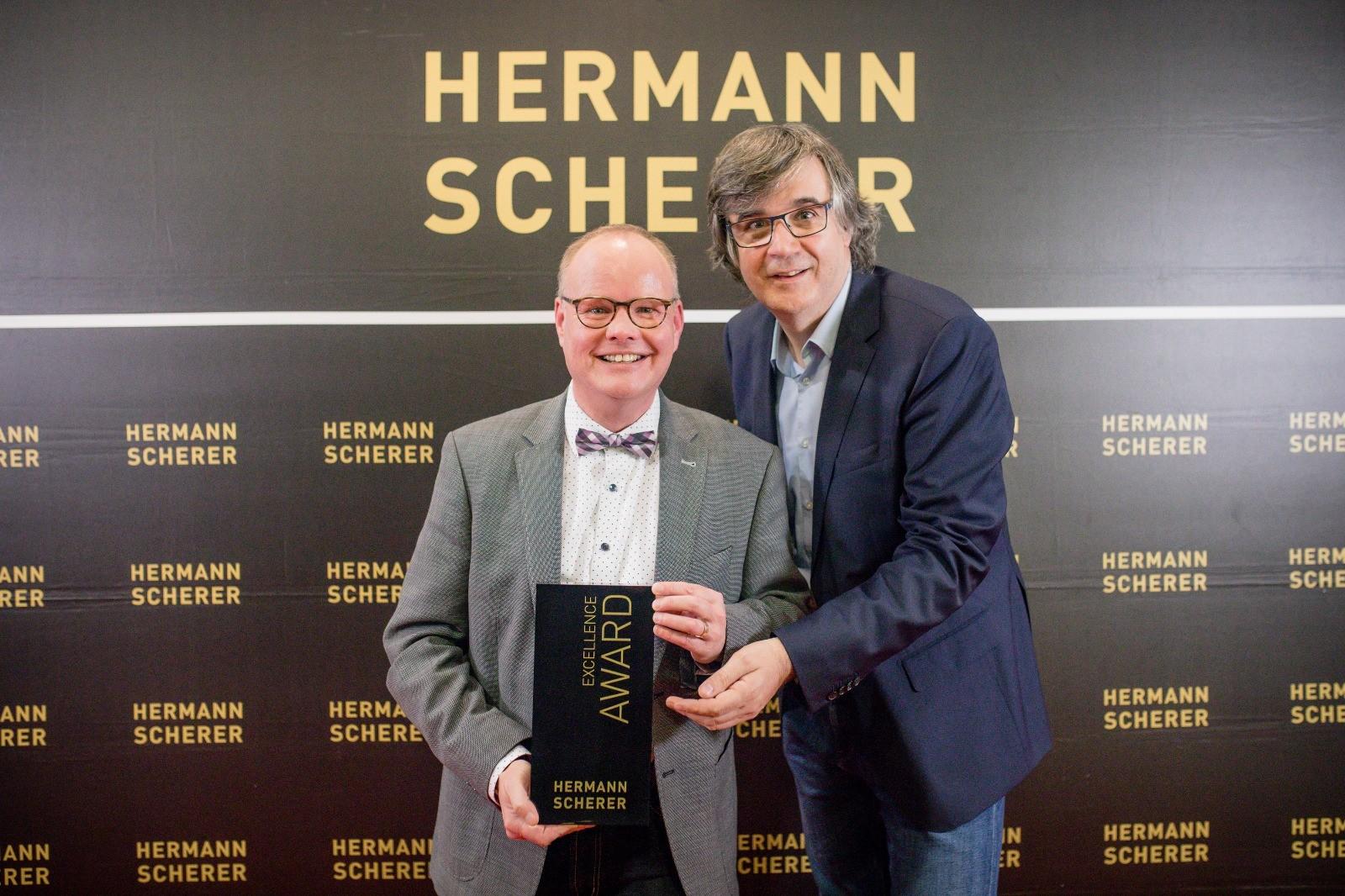 Thomas Sommerer und Hermann Scherer